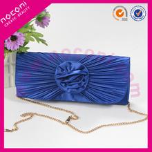 2015 noconi top grade lady blue evening fahsion beautiful cosmetic handbag