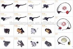 motorcycle brake pump,caliper,disc,hose,parts for EN125-2A,AN125,GN125H,AX100,AG100,GS125,INTRUDER,YES125