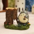 De abarrotes japonés miyazaki encantador hogar creativo de la resina pluma/totoro patrón/de dibujos animados de moda adornos de corea