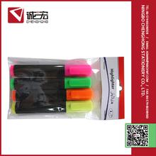 Novelty durable using cheap plastic pen highlighter