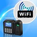 Huella digital la asistencia tiempo sistema programado con campana, el estado de auto, workcode