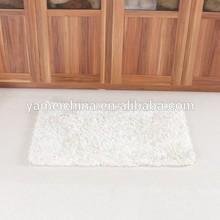 Soft shaggy moquette carpet with shiner,living room floor mat