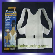 High quality posture magnetic back support belt