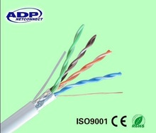 2014 China hot sale high quality high speed cheap bare copper ftp cat5e lan cable 4pr 24awg