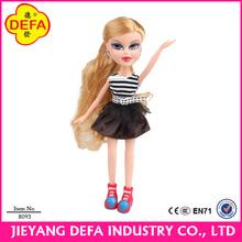 New creative dressup fashion dolls for 3-12 age girls