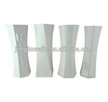 modern white ceramic vase home decor ,promtional decorative ceramic flower vase ,European style porcelain vase home,