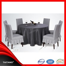 2015 new series polyester table cover paper table cloth