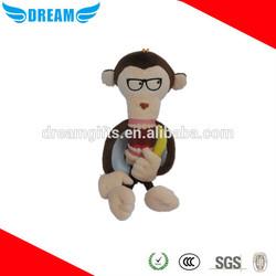 Hot sale sock monkey toys plush monkey
