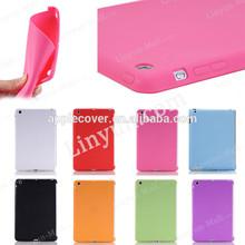 True color soft ultra slim TPU case for iPad mini 1 2 3
