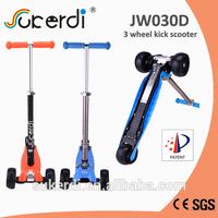 Patent product kids kick scooter, folding scooter, aqua scooter