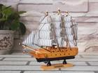 20CM Wooden Sailboat Ship Model Kits