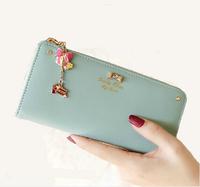 Very cool ladies coin sorter ladies anti-theft alarm purse wallet