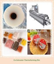 Food grade PA/PE COEX vacuum thermo-forming bottom film with FDA