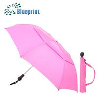 Top Fashion Promotion Elegant Lady Portable 2 Folding Umbrella