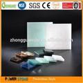 branco translúcido azul vidro parede de ônix