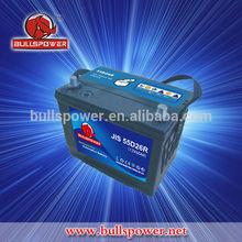 battery hankook 12v 60ah mf car battery 6-qw-60 12v 60 ah dry charged battery N50Z/55D26R
