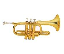 C Key Children Trumpet/Children Instrument Trumpet With Gold Body