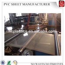 0.3mm clear pvc rigid sheet roll for plastic fold box use