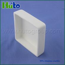 [HUTO CERAMICS] 99.7% Al2O3 square alumina corundum crucible