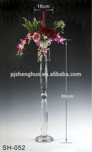 Gorgeous wedding centerpieces crystal flower stand