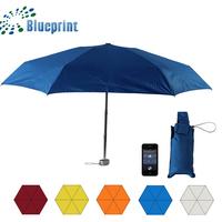 China Gift Item Girl Ladybag Small Short Aluminum 5 Folding Umbrella