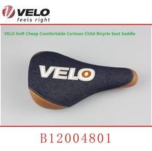 VELO Soft Cheap Comfortable Cartoon Child Bicycle Seat Saddle