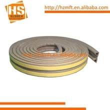 P section for gaps from 3mm to 5mm Self Adhesive Foam Seal Strip Weatherbar Draft Rubber Seal