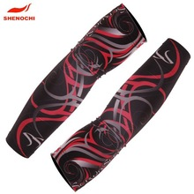 2014 Breathable Compression Arm And Hand Sleeves Custom