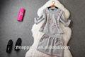 European latest style fashion ladies suit design, women skirt suit,