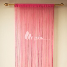 20 years curtain factory Hot selling decorative curtain Newest design polyester curtain fabric