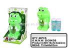 Kids Bubble Toys B/O Frog Bubble Gun