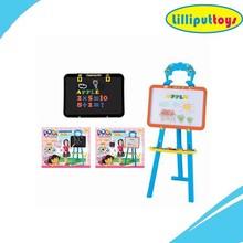 Plastic design standing easel Children drawing board