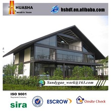 Luxury sandwich insulated panel prefabricated apartment building