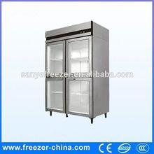Used hotel restaurant cooler type used glass door cabinet