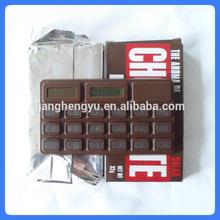 Promotional gift chocolate calculator,solar calculator