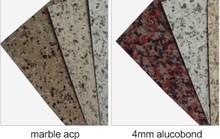 Granite panel ACP PVDF Coated decorative aluminum fence panels