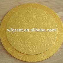 Embossed aluminium foil laminated cake tray