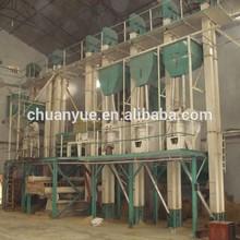 chuanyue malzemeleri tam otomatik küçük pirinç fabrikası tesisi