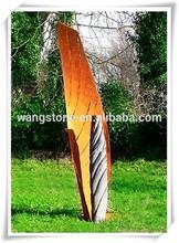 Hot vintage christmas decor corten steel tree metal garden sculpture