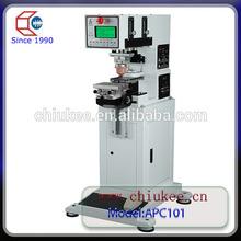 Factory price bottle plastic caps pad printing machine