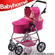 customized best selling lovely baby doll stroller