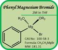 Cas n º 100 - 58 - 3 Grignard reactivos - fenil magnesio bromuro de 2 M en THF