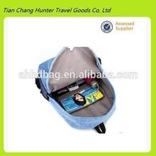 wholesale costom high capacity leisure Korean popular backpack bag