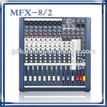 12 channel MFX8-2 sound mixer, audio mixer, pa mixer, mixing console