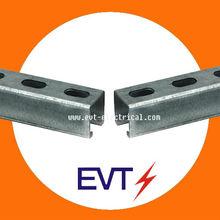 UL Standard Galvanized Steel U Struct Channel