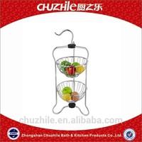 ChuZhiLe the little bear shape wire fruit basket AB-564A