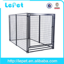 low price low MOQS metal foldable iron dog crate pet product
