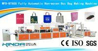 full automatic non woven fabric box bag making machine