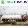 32.7M3 Total Volume cryogénique réservoir Semi - remorque pour LN2 de transport