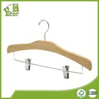 China supplier wholesale wooden special clothes hangers